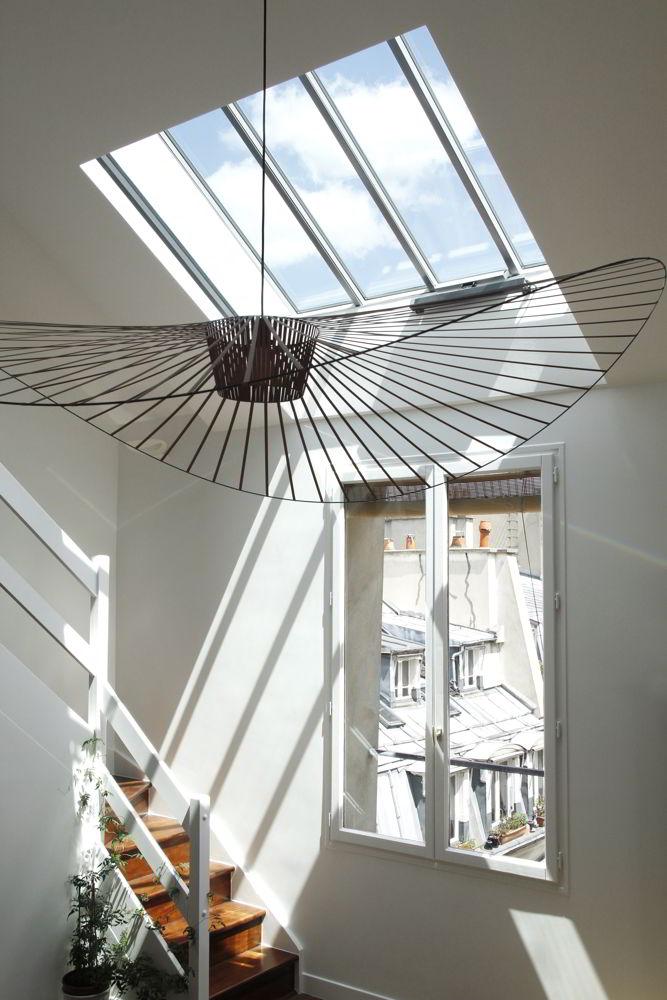 appartement duplex paris 1er cca studio. Black Bedroom Furniture Sets. Home Design Ideas